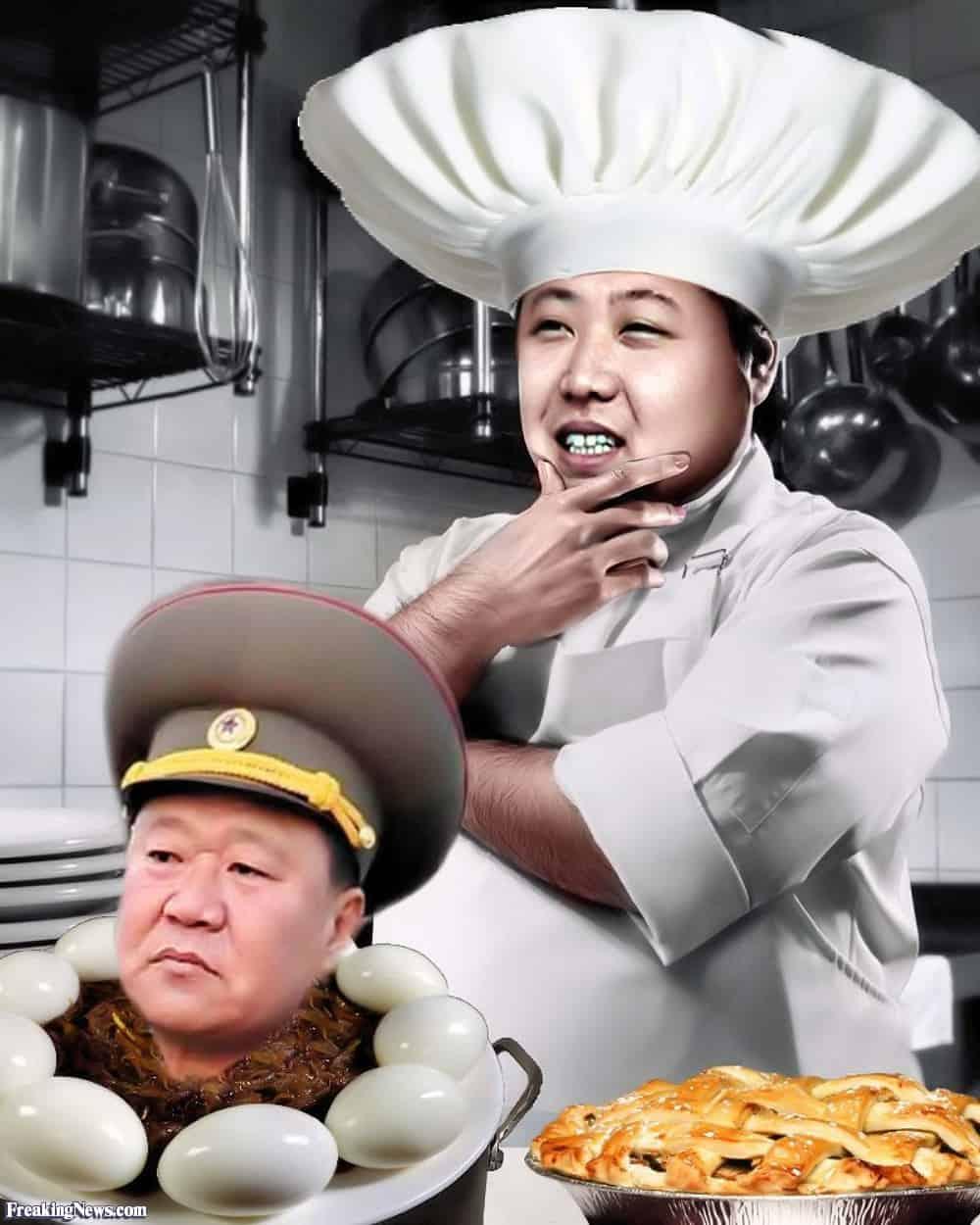 Las recetas de Kim jong un
