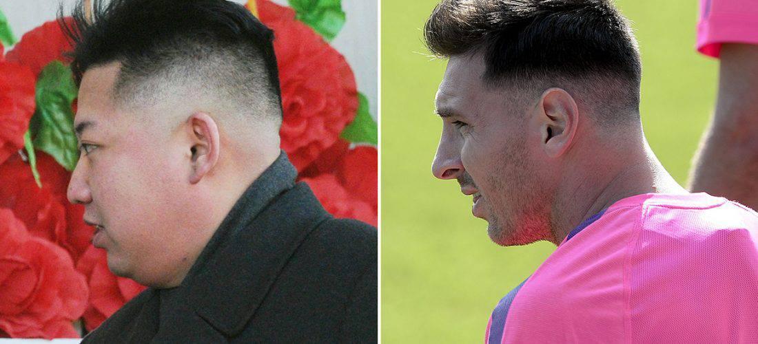 Kim Jong Un Vs Leo Messi
