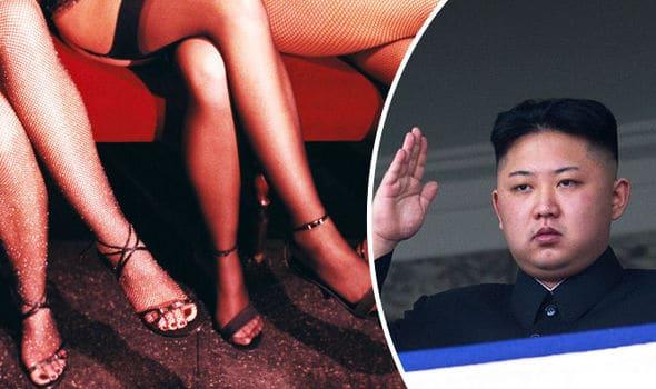 A Kim le gusta ir de putas por Barcelona