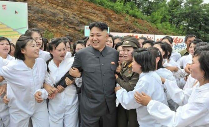 Ejército de follamigas de Kim